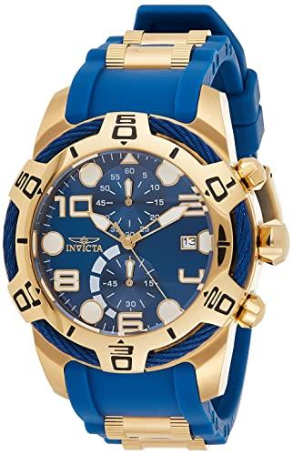 インヴィクタ インビクタ ボルト 腕時計 メンズ 24217 【送料無料】Invicta Men's Bolt Quartz Watch with Polyurethane Strap, Two Tone, 29 (Model: 24217)インヴィクタ インビクタ ボルト 腕時計 メンズ 24217