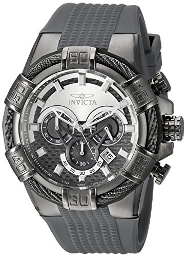 インヴィクタ インビクタ ボルト 腕時計 メンズ 24701 Invicta Men's Bolt Stainless Steel Quartz Watch with Silicone Strap, Grey, 32 (Model: 24701インヴィクタ インビクタ ボルト 腕時計 メンズ 24701