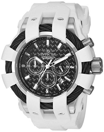インヴィクタ インビクタ ボルト 腕時計 メンズ 23856 【送料無料】Invicta Men's Bolt Stainless Steel Quartz Watch with Silicone Strap, White, 26 (Model: 23856)インヴィクタ インビクタ ボルト 腕時計 メンズ 23856