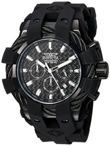 インヴィクタ インビクタ ボルト 腕時計 メンズ 23864 【送料無料】Invicta Men's Bolt Stainless Steel Quartz Watch with Silicone Strap, Black, 32 (Model: 23864)インヴィクタ インビクタ ボルト 腕時計 メンズ 23864