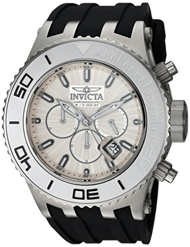 インヴィクタ インビクタ サブアクア 腕時計 メンズ 24250 【送料無料】Invicta Men's Subaqua Stainless Steel Quartz Watch with Silicone Strap, Black, 1.2 (Model: 24250)インヴィクタ インビクタ サブアクア 腕時計 メンズ 24250
