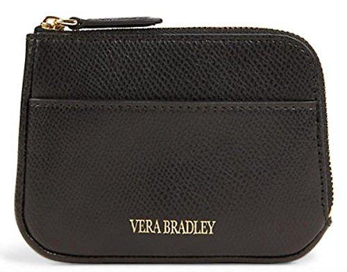 ヴェラブラッドリー ベラブラッドリー アメリカ 日本未発売 財布 15325 【送料無料】Vera Bradley Genuine Leather Zip Card Case (Black)ヴェラブラッドリー ベラブラッドリー アメリカ 日本未発売 財布 15325