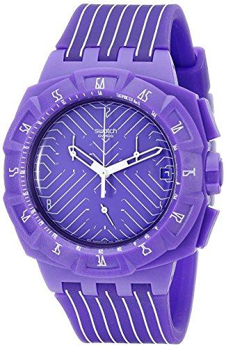 スウォッチ 腕時計 メンズ SUIV401 【送料無料】Swatch Men's SUIV401 Purple Run Multi-Color Strap Watchスウォッチ 腕時計 メンズ SUIV401