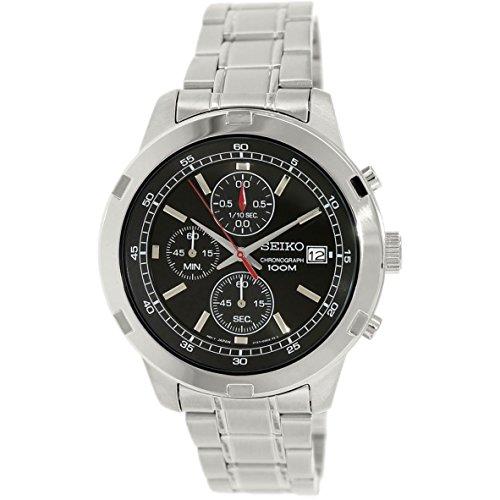 腕時計 セイコー メンズ SKS421P1 【送料無料】Seiko SKS421 Chronograph Black Dial Stainless Steel Mens Watch腕時計 セイコー メンズ SKS421P1