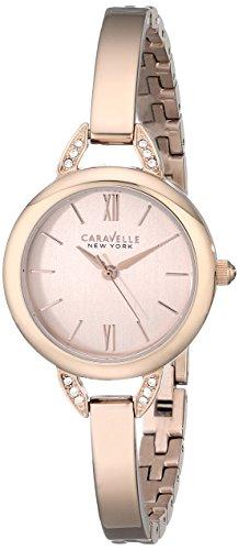 ブローバ 腕時計 レディース 44L133 【送料無料】Caravelle New York Women's 44L133 Stainless Steel Swarovski Crystal-Accented Watchブローバ 腕時計 レディース 44L133