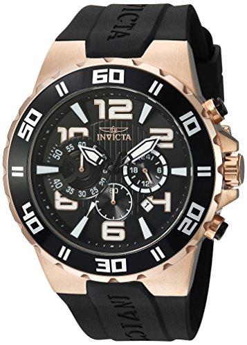 インヴィクタ インビクタ プロダイバー 腕時計 メンズ 24672 【送料無料】Invicta Men's Pro Diver Stainless Steel Quartz Watch with Polyurethane Strap, Black, 28 (Model: 24672)インヴィクタ インビクタ プロダイバー 腕時計 メンズ 24672