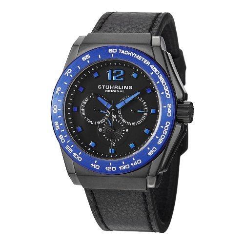 ストゥーリングオリジナル 腕時計 メンズ 535.33U51 【送料無料】Stuhrling Original Men's 535.33U51 Concorso Tonneau Date Blackストゥーリングオリジナル 腕時計 メンズ 535.33U51