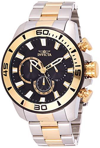 インヴィクタ インビクタ プロダイバー 腕時計 メンズ 22588 【送料無料】Invicta Men's Pro Diver Quartz Watch with Stainless-Steel Strap, Two Tone, 24 (Model: 22588)インヴィクタ インビクタ プロダイバー 腕時計 メンズ 22588