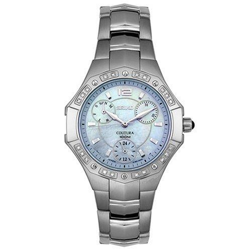 セイコー 腕時計 レディース SUK009 【送料無料】Seiko Women's SUK009 Diamond Accented Coutura Watchセイコー 腕時計 レディース SUK009