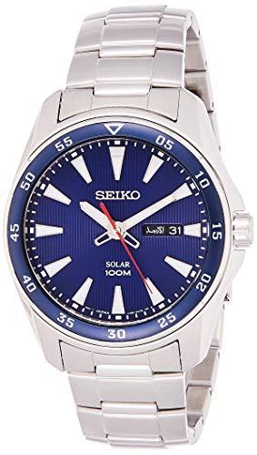 セイコー 腕時計 メンズ Solar 【送料無料】Seiko Men's Analogue Quartz Watch with Stainless Steel Bracelet ? SNE391P1セイコー 腕時計 メンズ Solar
