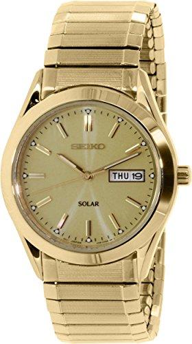 セイコー 腕時計 メンズ SNE058 Seiko Men's SNE058 Gold Stainless-Steel Quartz Watchセイコー 腕時計 メンズ SNE058