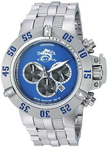 インヴィクタ インビクタ サブアクア 腕時計 メンズ 24447 【送料無料】Invicta Men's Subaqua Quartz Watch with Stainless-Steel Strap, Silver, 15 (Model: 24447)インヴィクタ インビクタ サブアクア 腕時計 メンズ 24447