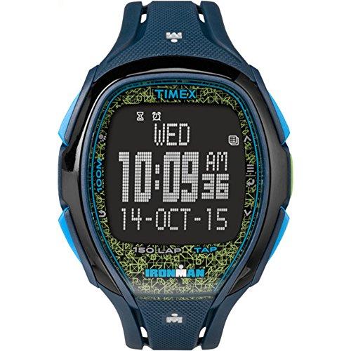 タイメックス 腕時計 メンズ TW5M08200 Timex Ironman Sleek 150 | Digital Yellow/Blue Tapscreen Sport Watch TW5M08200タイメックス 腕時計 メンズ TW5M08200