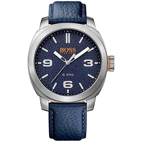 ヒューゴボス 高級腕時計 メンズ 1513410 HUGO BOSS Men's 'CAPE TOWN' Quartz Stainless Steel and Leather Casual Watch, Color:Blue (Model: 1513410)ヒューゴボス 高級腕時計 メンズ 1513410