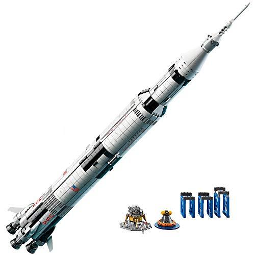 レゴ 6197232 LEGO Ideas NASA Apollo Saturn V (21309) - Building Toy and Popular Gift for Fans of LEGO Sets and Space (1969 Pieces)レゴ 6197232