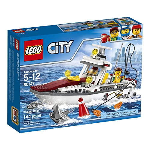 レゴ シティ 6174474 LEGO City Fishing Boat 60147 Creative Play Toyレゴ シティ 6174474