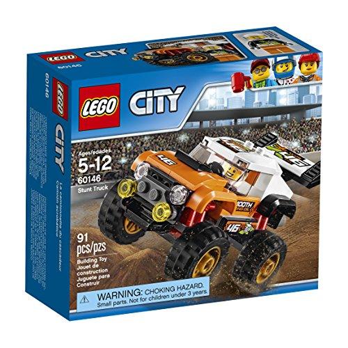 レゴ シティ 6174471 LEGO City Great Vehicles Orange Stunt Truck 60146 Building Kitレゴ シティ 6174471