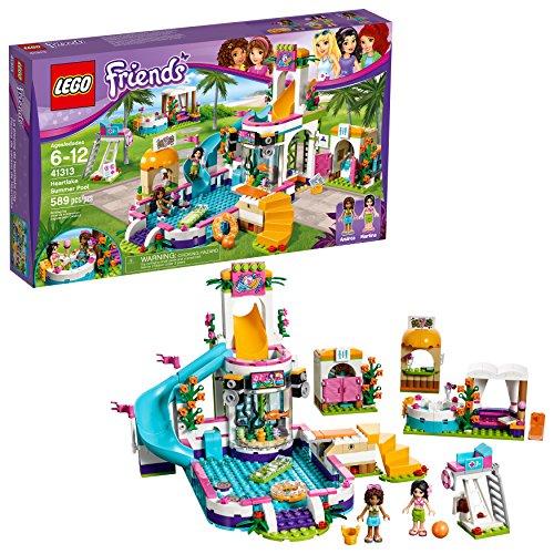 無料ラッピングでプレゼントや贈り物にも 逆輸入並行輸入送料込 送料無料 レゴ フレンズ 41313 ハートレイクシティのドキドキウォーターパーク 589ピース 並行輸入品 アンドレア マルティナ LEGO 注目ブランド Friends