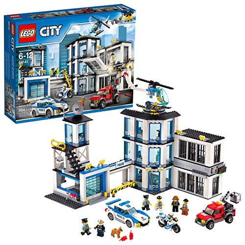 レゴ シティ 60141 LEGO City Police Station 60141 Building Kit with Cop Car, Jail Cell, and Helicopter, Top Toy and Play Set for Boys and Girls (894 Pieces)レゴ シティ 60141