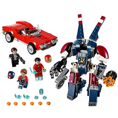 レゴ スーパーヒーローズ マーベル DCコミックス スーパーヒーローガールズ 6175491 【送料無料】LEGO Marvel Super Heroes Iron Man: Detroit Steel Strikes 76077 Superhero Tレゴ スーパーヒーローズ マーベル DCコミックス スーパーヒーローガールズ 6175491