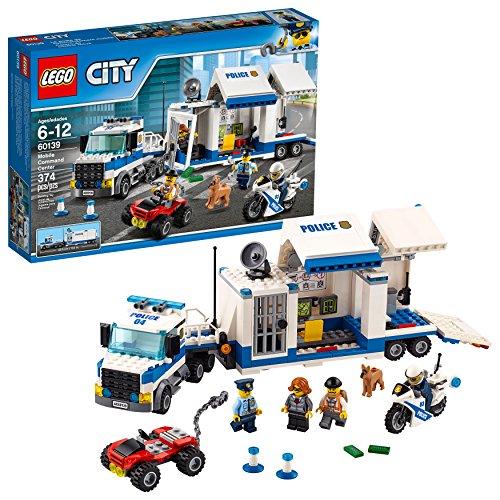 レゴ シティ 6174395 【送料無料】LEGO City Police Mobile Command Center Truck 60139 Building Toy, Action Cop Motorbike and ATV Play Set for Boys and Girls aged 6 to 12 (374 Pieces)レゴ シティ 6174395