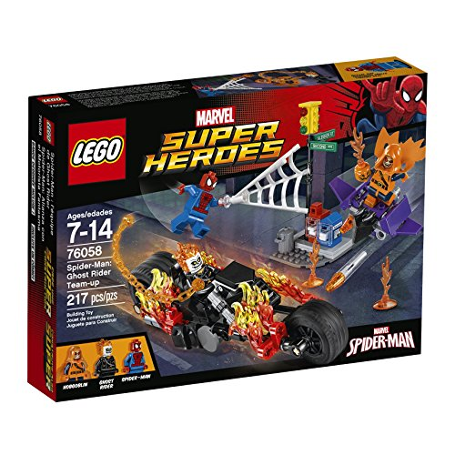 レゴ スーパーヒーローズ マーベル DCコミックス スーパーヒーローガールズ 6137833 【送料無料】LEGO Marvel Super Heroes Spider-Man: Ghost Rider Team-up 76058 Spiderman Tレゴ スーパーヒーローズ マーベル DCコミックス スーパーヒーローガールズ 6137833