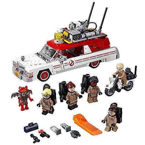 レゴ 6153852 LEGO Ghostbusters Ecto-1 & 2 75828 Building Kit (556 Piece)レゴ 6153852, カミユウベツチョウ 63d113c9