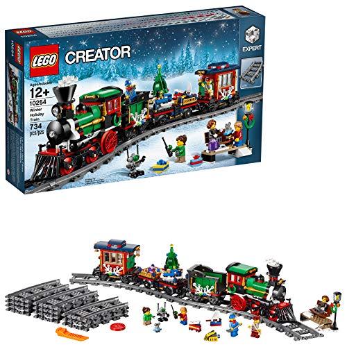 レゴ クリエイター 6135658 LEGO Creator Expert Winter Holiday Train 10254 Christmas Train Set with Full Circle Train Track, Locomotive, and Spinning Christmas Tree Toy (734 Pieces)レゴ クリエイター 6135658