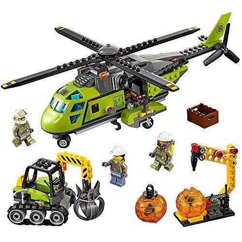 レゴ シティ 60123 LEGO City Volcano Explorers 60123 Volcano Supply Helicopter Building Kit (330 Piece)レゴ シティ 60123