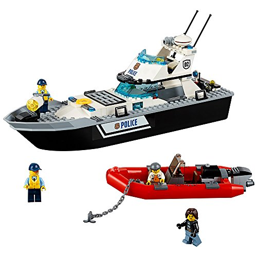 レゴ シティ 6137200 LEGO City Police Patrol Boat 60129 Building Toyレゴ シティ 6137200