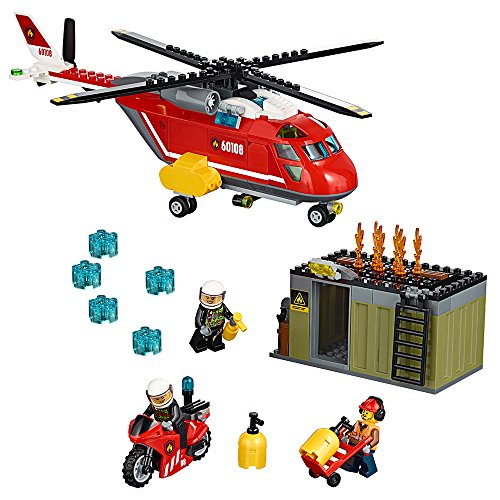 レゴ シティ 6135835 LEGO City Fire Response Unit 60108 Children's Toyレゴ シティ 6135835