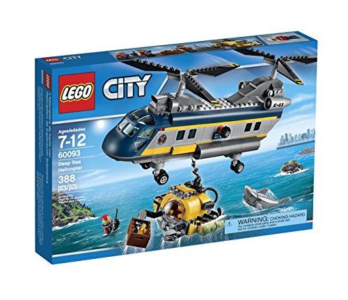 レゴ シティ 6100334 LEGO City Deep Sea Explorers 60093 Helicopter Building Kitレゴ シティ 6100334