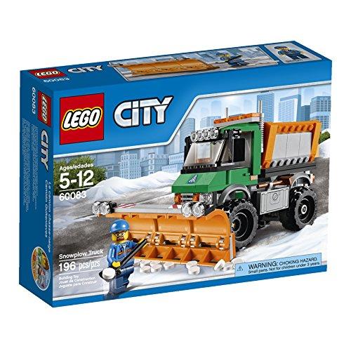 レゴ シティ 6100284 【送料無料】LEGO City 60083 Snowplow Truckレゴ シティ 6100284