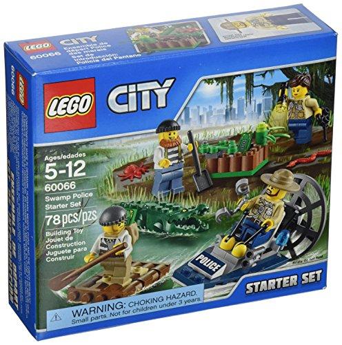 レゴ シティ 6100309 【送料無料】LEGO, City, Swamp Police Starter Set (60066)レゴ シティ 6100309