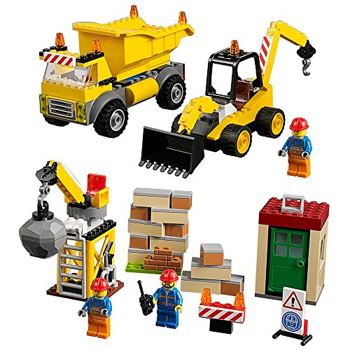 レゴ 6175380 LEGO Juniors Demolition Site 10734 Toy for 4-Year-Oldsレゴ 6175380, 暮らしを彩る  いろえんぴつ ceef622c