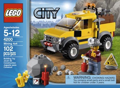 レゴ シティ 4653630 LEGO City 4200 Mining 4x4レゴ シティ 4653630