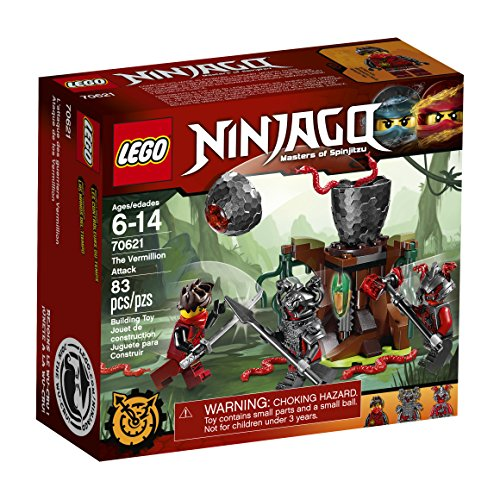 レゴ ニンジャゴー 6174531 LEGO Ninjago The Vermillion Attack 70621 Building Kit (83 Piece)レゴ ニンジャゴー 6174531