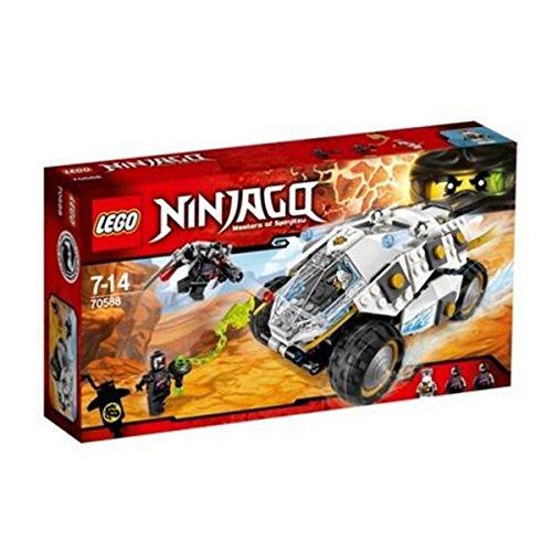 レゴ ニンジャゴー 2016 LEGO Ninjago Titanium Ninja Tumbler 70588レゴ ニンジャゴー