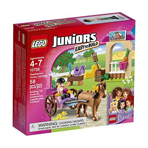 無料ラッピングでプレゼントや贈り物にも 逆輸入並行輸入送料込 レゴ フレンズ 6135844 送料無料 LEGO 10726 Building Horse Stephanie's Kit Carriage 新作入荷 58 有名な Piece