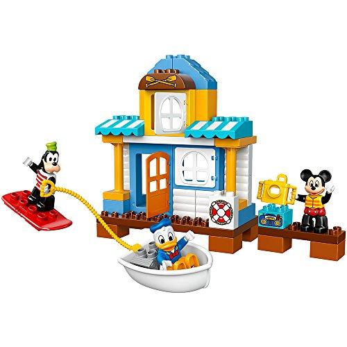 レゴ デュプロ 6136818 LEGO DUPLO Disney Junior Mickey & Friends Beach House, Preschool, Pre-Kindergarten Large Building Block Toys for Toddlersレゴ デュプロ 6136818