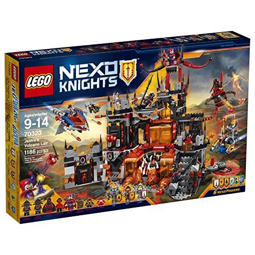 レゴ ネックスナイツ 70323 【送料無料】LEGO Nexo Knights 70323 Jestro's Volcano Lair Building Kit (1186 Piece)レゴ ネックスナイツ 70323