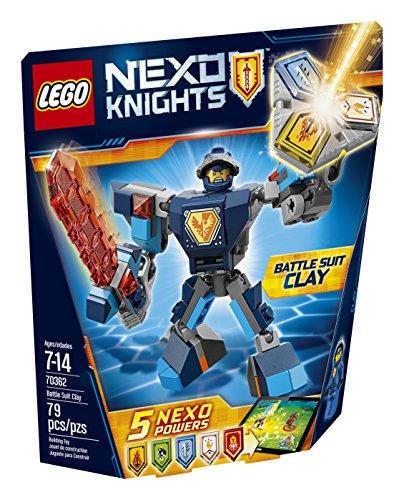 レゴ ネックスナイツ 6175163 LEGO Nexo Knights Battle Suit Clay 70362 Building Kit (79 Piece)レゴ ネックスナイツ 6175163, スカイラーク 7b48034b