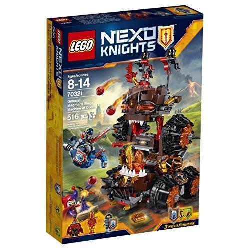 レゴ ネックスナイツ 6135830 LEGO Nexo Knights 70321 General Magmar's Siege Machine of Doom Building Kit (516 Piece)レゴ ネックスナイツ 6135830