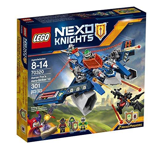 レゴ ネックスナイツ 6132555 LEGO Nexo Knights 70320 Aaron Fox's Aero-Striker V2 Building Kit (301 Piece)レゴ ネックスナイツ 6132555