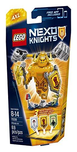 レゴ ネックスナイツ 6136997 【送料無料】LEGO Nexo Knights 70336 Ultimate Axl Building Kit (69 Piece)レゴ ネックスナイツ 6136997