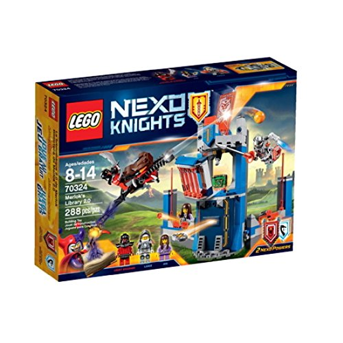 レゴ ネックスナイツ Lego Nexo Knights 70324 Merlock's Library 2.0 288 Piece set / Toys / Nexo Knights Theme / Merlock's Library LEGO / Safety contents / Solid productレゴ ネックスナイツ