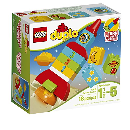 レゴ デュプロ 6137255 【送料無料】LEGO DUPLO My First Rocket 10815, Preschool, Pre-Kindergarten Large Building Block Toys for Toddlersレゴ デュプロ 6137255