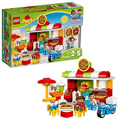 レゴ デュプロ 6174417 【送料無料】LEGO DUPLO My Town Pizzeria 10834, Preschool, Pre-Kindergarten Large Building Block Toys for Toddlers (57 Pieces)レゴ デュプロ 6174417