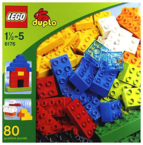 レゴ デュプロ 6176 LEGO 6176 DUPLO Basic Bricks Deluxe (80 Pcs.)レゴ デュプロ 6176