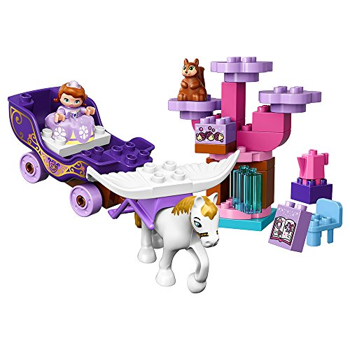 レゴ デュプロ 6137802 【送料無料】LEGO DUPLO l Disney Sofia The First Magical Carriage 10822 Large Building Block Toy for 2- to 5-Year-Oldsレゴ デュプロ 6137802